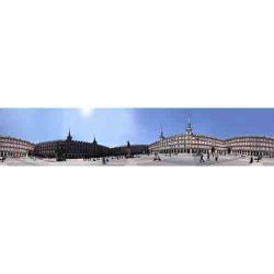 Madrid, Panoramica de Plaza Mayor 360 grados