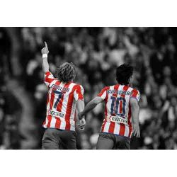 Atletico Madrid, Forlan and Kun Aguero