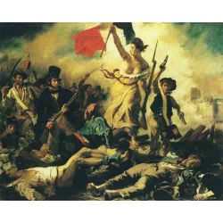 Eugene Delacroix, Liberty Leading the People
