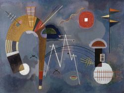 Wassily Kandinsky, Round and Pointed