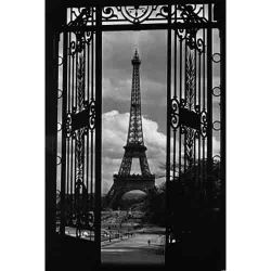 Paris, Eiffel Tower Through Gates