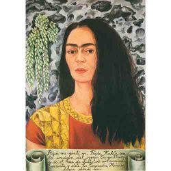 Frida Kahlo, Self-Portrait with Loose Hair