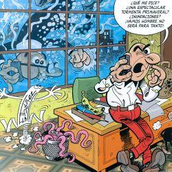 Mortadelo Y Filemon Oficina Comic Espanol Cuadrosguapos Com
