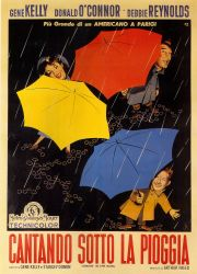 Singing in the rain, Italian