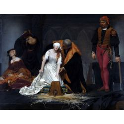 Paul Delaroche. The Execution of Lady Jane Grey