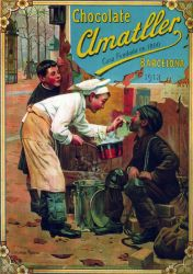 Amatller Chocolates. Classic Poster