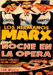 Marx Brothes, Night In The Opera