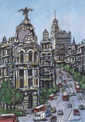 1. Jose Alcala, Traffic at Gran Via, Madrid