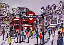 Jose G. Alcala: Londres, Underground London