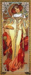 Art Nouveau: Alphonse Mucha, Seasons Fall