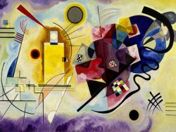 Wassily Kandinsky, Yellow Red Blue
