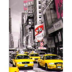 Yellow Taxis in Manhattan, New York