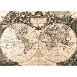 Old Globe Map