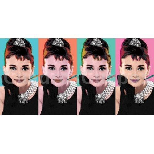 Audrey hepburn cuatro imagenes pop - Audrey hepburn cuadros ...