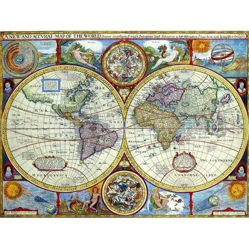 Cuadros de Mapas y Astronomia Tamao grande y Mural Clsico y