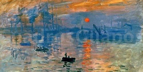 Monet amanecer sol naciente - Fotos de cuadros de monet ...