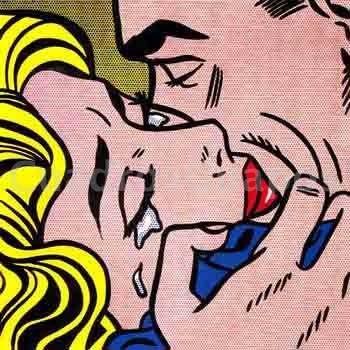 Lichtenstein abrazo - Pop art roy lichtenstein obras ...