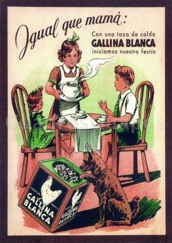 Gallina blanca cuadro para decorar cocina - Laminas para cuadros de cocina ...