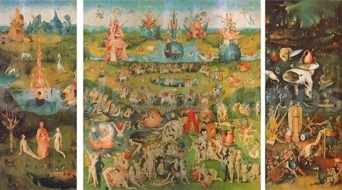 El bosco jardin de las delicias mural gigante en - El bosco el jardin de las delicias ...