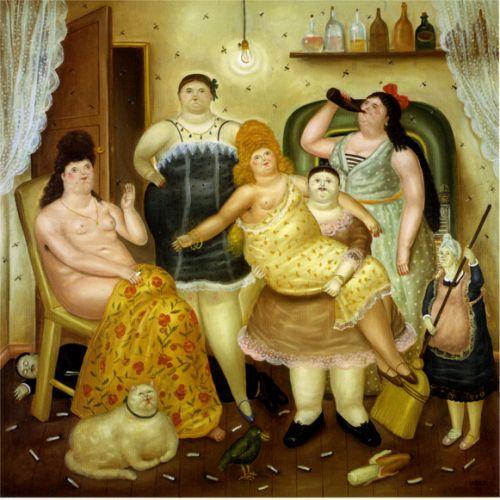 Cuadro de botero la casa de mariduque - La casa del cuadro ...