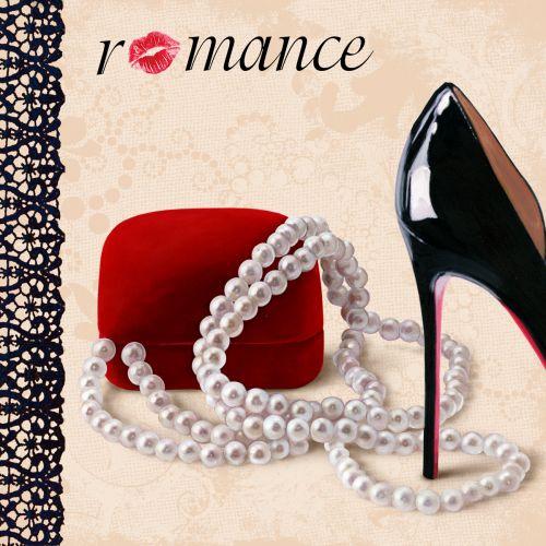 Zapato negro glamour cartel zapateria vintage - Carteles publicitarios originales ...