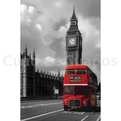 autobus rojo en londres