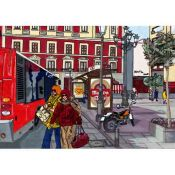 Tony Polonio, Bus Stop, Madrid