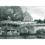 Paris, Carrousel and Sacre-Coeur