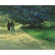 Vincent Van Gogh, Couple in the Public Garden