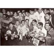 Photo Soccer, Real Madrid first European Cup