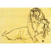 Egon Schiele, Drawing Naked