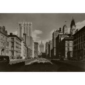 New York, Park Avenue, Black and White