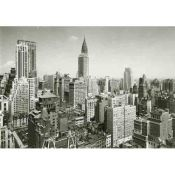 New York, Chrysler Building Aerial photo