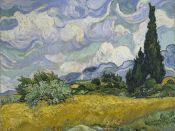 Vincent Van Gogh, Cypresses Field