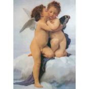 William-Adolphe Bouguereau, The First Kiss
