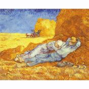 Vincent Van Gogh, Rest in Field