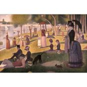 George Seurat, Sunday Afternoon on the Island of Grand Jatte