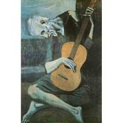 Picasso, Old man with guitar