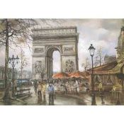 Paris, Urban Painting, Arc de Triomphe