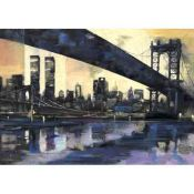BROOKLYN BRIDGE NEW YORK, Laura Quintana, Original