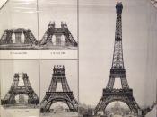 Torre Eiffel, Building process, panoramic