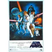 Star Wars, Cartel de cine