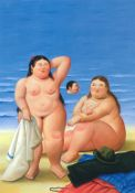 Botero, Bathers on the Beach