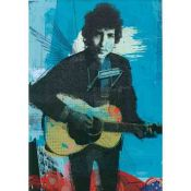 Ilustration, Bob Dylan, Young