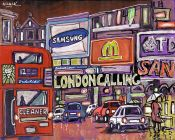 Jose Alcala, Piccadilly Circus und Regen, London