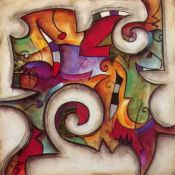 Eric Waugh, Swirl 1 - Abstract Mural
