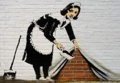 Banksy: Cleaning