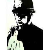 Banksy: Police hitch