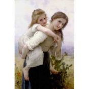 Willian Adolphe Bouguereau - Not Too Much To Carry