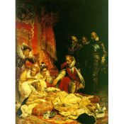 Paul Delaroche. Death of Elizabeth